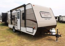 small travel trailers with slide outs