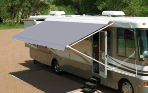how to clean rv awning