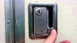how to unlock a camper door without a key