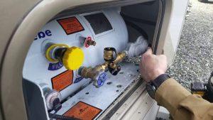 motorhome propane tank recertification