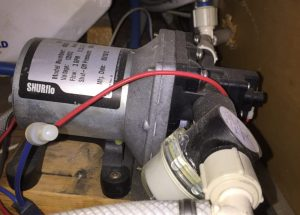 RV water pump keeps running
